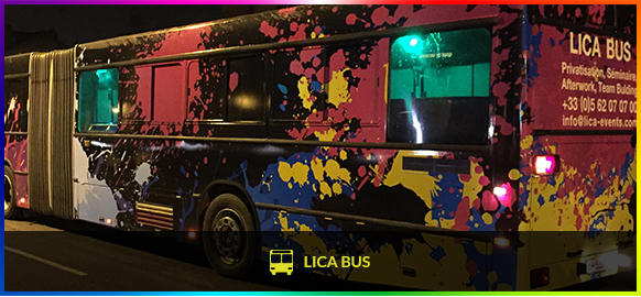 Lica Events - Lica bus